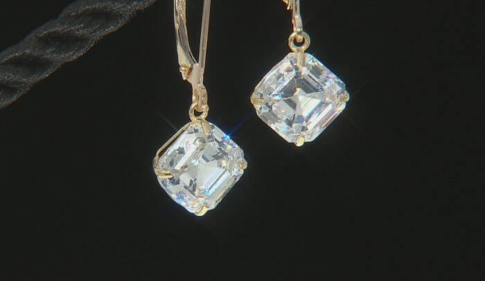 Asscher Cut Earrings
