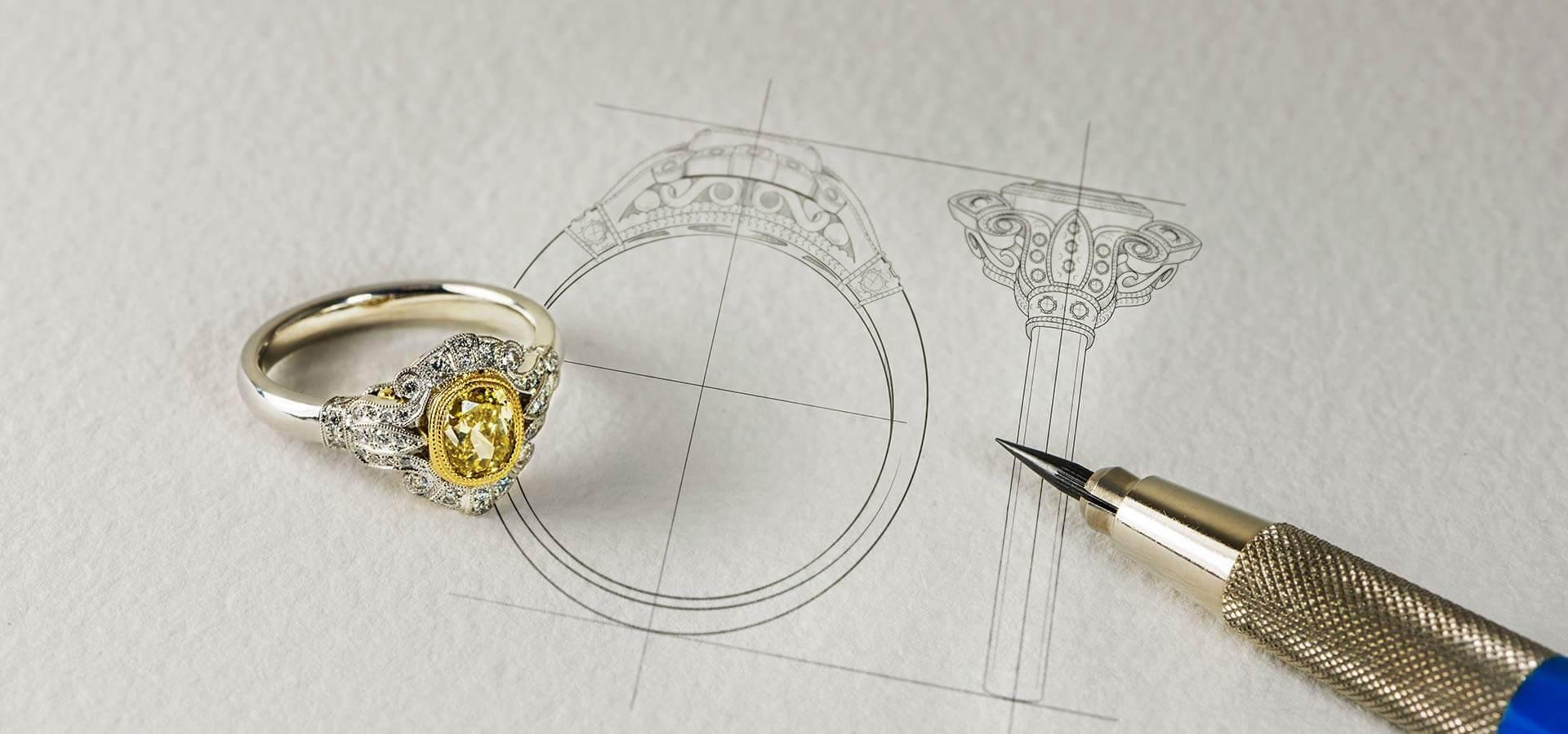 Custom desing rings