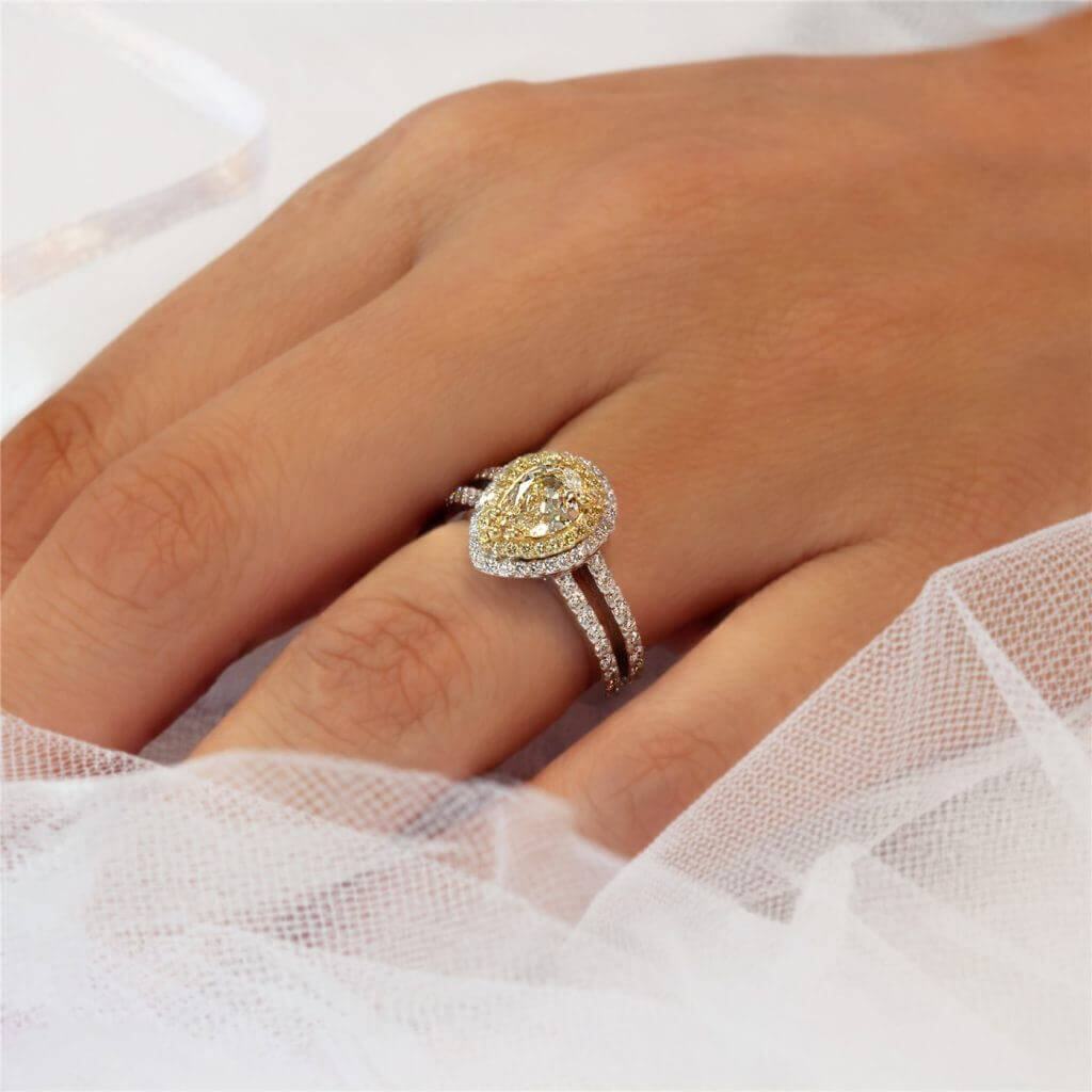 Pear Shaped Rings